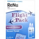 Bausch + Lomb ReNu MPS Multi-Purpose Solution Flight Pack 2 x 60ml