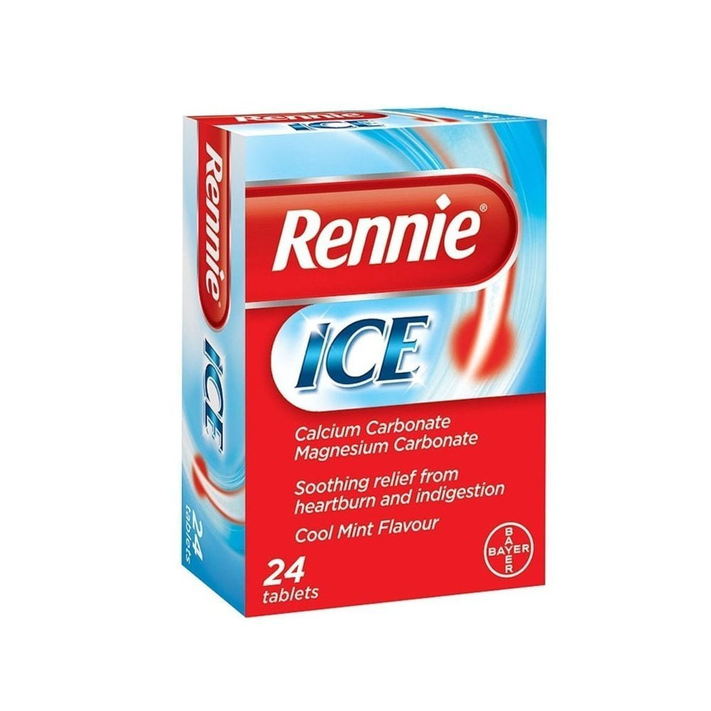 BAYER Rennie Ice 24chew.tabs