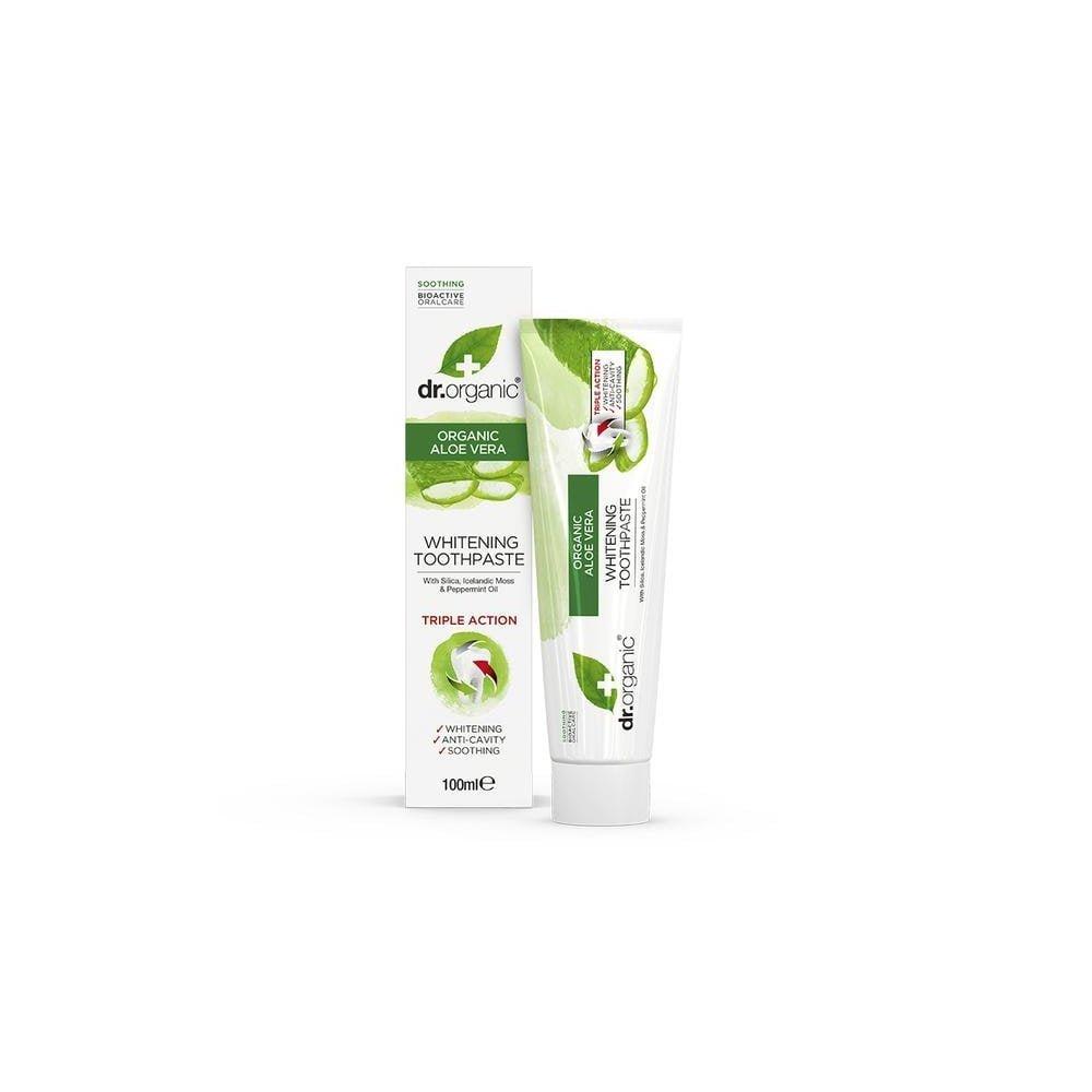 DR. ORGANIC Aloe Vera Toothpaste Whitening 100ml