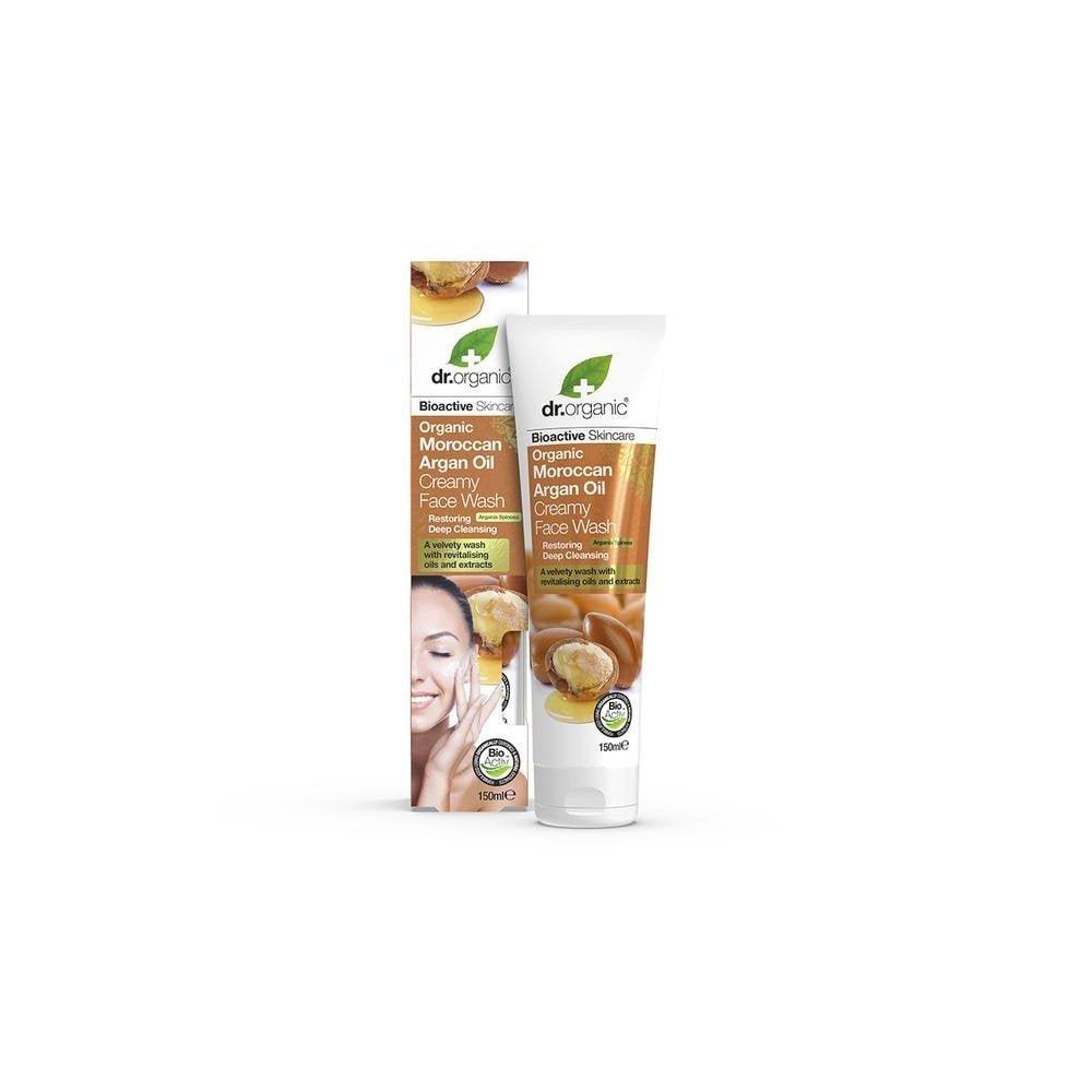 DR. ORGANIC Moroccan Argan Oil Creamy Face Wash 150ml