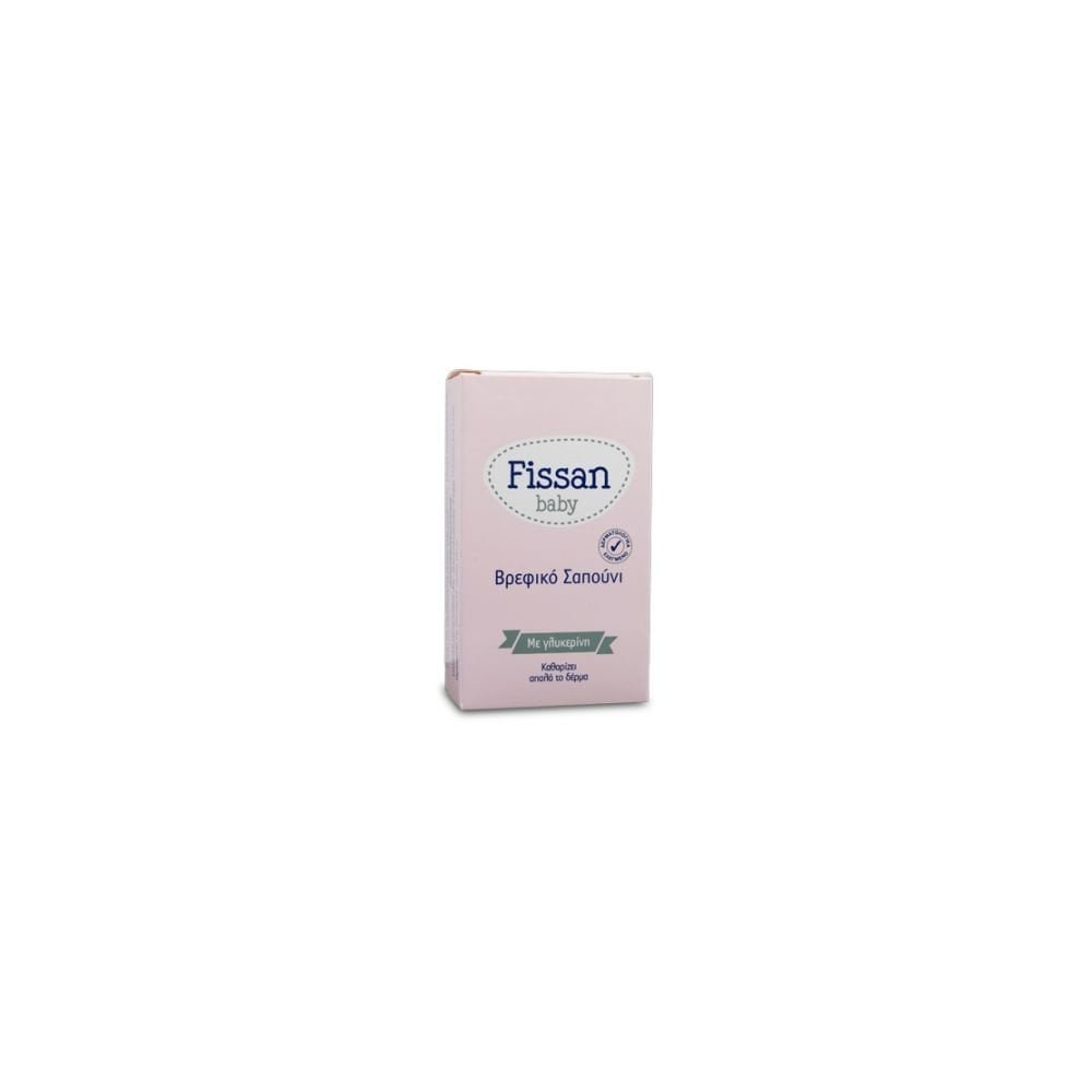 FISSAN Baby Soap with Milk Emulsion 90gr