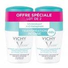 Vichy 48H Intensive Anti-perspirant Deodorant Roll-on 2 x 50ml