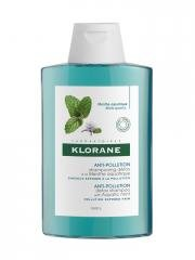 Klorane Anti-Pollution Detox Shampoo with Aquatic Mint 200ml