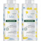 Klorane Baby No-Rinse Cleansing Water 2 x 500ml