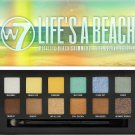 W7 Cosmetics Life's a Beach Metallic Shimmers Eye Colour Palette