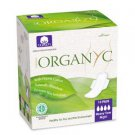 Organ(y)c pads with 100% organic cotton Heavy flow, with wings, folded 10