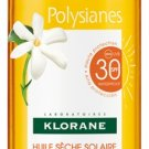 KLORANE POLYSIANES SUN DRY OIL WITH ORGANIC TAMANU AND MONOÏ SPF30 200ML