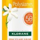 KLORANE POLYSIANES SPRAY SOLAR SUBLIME WITH ORGANIC TAMANU AND MONOÏ SPF50 200ML