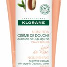 KLORANE NOURISHING SHOWER CREAM WITH ORGANIC CUPUAÇU ROSE MILK 200ML