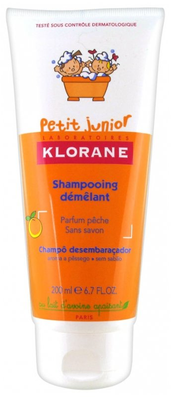 KLORANE PETIT JUNIOR DETANGLING SHAMPOO PEACH FRAGRANCE 200ML