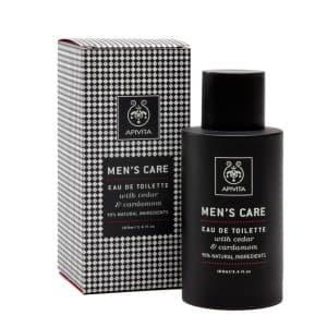 APIVITA Eau De Toilette With Cardamom & Cedar 100 ml