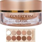 Coverderm Classic Concealing Foundation SPF30 01 15ml