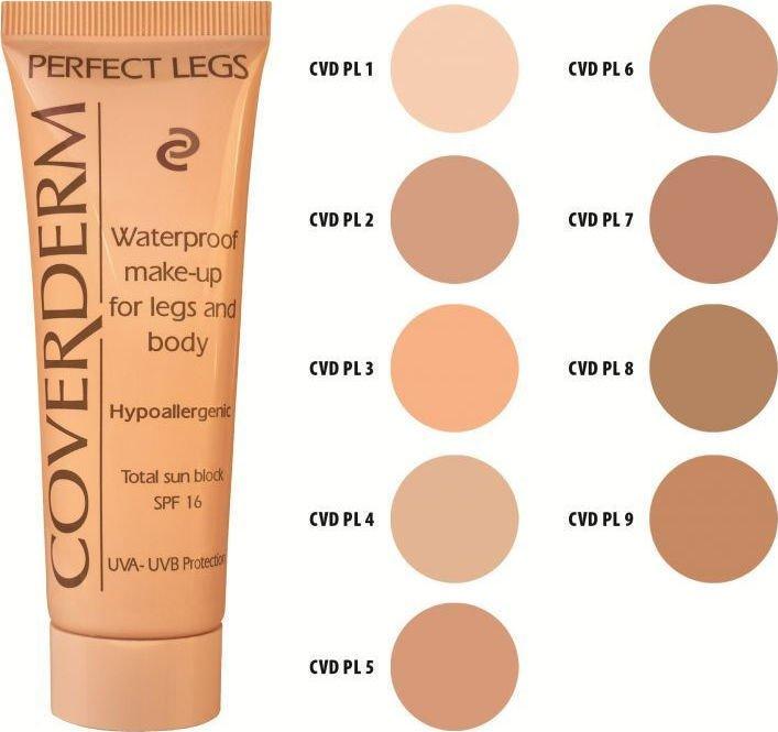 Coverderm Perfect Legs Waterproof 08 SPF16 50ml