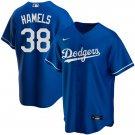 Cole Hamels #38 Los Angeles Dodgers Royal Alternate Cool Base Mens/Youth Jersey Stitched