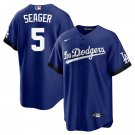 Youth Corey Seager Los Angeles Dodgers 2021 City Connect Stitched Jersey - LosDodgers