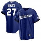 Men's Trevor Bauer Los Angeles Dodgers 2021 City Connect Stitched Jersey - LosDodgers