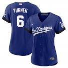 Women's Trea Turner Los Angeles Dodgers 2021 City Connect Stitched Jersey - LosDodgers