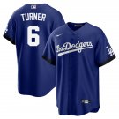 Youth Trea Turner Los Angeles Dodgers 2021 City Connect Stitched Jersey - LosDodgers