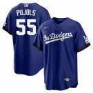 Youth Albert Pujols Los Angeles Dodgers 2021 City Connect Stitched Jersey - LosDodgers