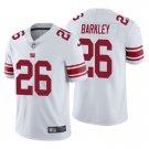 Men's #26 Saquon Barkley New York Giants White Vapor Limited Football Jersey Stitched