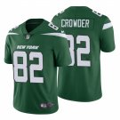 Men's #82 Jamison Crowder New York Jets Green Vapor Limited Jersey Stitched