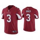 Men's #3 Budda Baker Arizona Cardinals Vapor Limited Cardinal Jersey Stitched