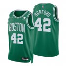 Men's #42 Al Horford Boston Celtics Kelly Green Icon 2021-22 Diamond Jersey 75th Anniversary