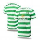 Men's Celtic Home Soccer Jersey 2021/22 Football Shirts - Green White