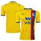Men's Crystal Palace Away Soccer Jersey 2021/22 Football Shirts - Yellow