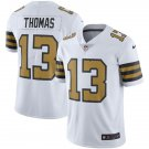 Men's #13 Michael Thomas New Orleans Saints White Color Rush Football Jersey Stitched