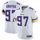Men's #97 Everson Griffen Minnesota Vikings White Vapor Limited Football Jersey Stitched