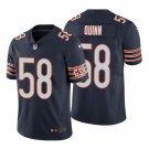 Men's #58 Robert Quinn Chicago Bears Navy Vapor Limited Football Jersey Stitched