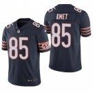 Men's #85 Cole Kmet Chicago Bears Navy Vapor Limited Football Jersey Stitched