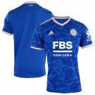 Men's Leicester City Home Soccer Jersey 2021/22 Football Shirts - Blue