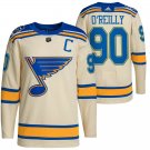 Men's Ryan O'Reilly St. Louis Blues Cream 2022 Winter Classic Jersey Stitched