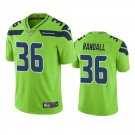 Men's #36 Damarious Randall Seattle Seahawks Neon Green Vapor Limited Football Jersey Stitched