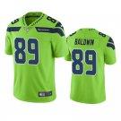 Men's #89 Doug Baldwin Seattle Seahawks Neon Green Vapor Limited Football Jersey Stitched