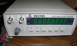 LDB VC3165 FREQUENCY/HIGH RESOLUTION COUNTER 0.01 Hz-2.4 GHz FREE SHIPPING