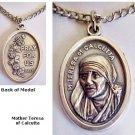 Mother Teresa Medal Necklace