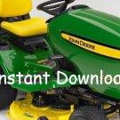 John Deere X300R X305R Lawn Tractor Technical Manual TM1696 PDF OEM Digital Download