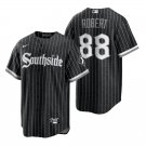 Chicago White Sox #88 Luis Robert City Connect Southside Black Jersey Mens Stitched