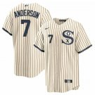Men's Chicago White Sox #7 Tim Anderson Field of Dreams Limited Edition Jersey Stitched