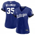 Cody Bellinge Los Angeles Dodgers City Connect Royal Womens Jersey Stitched LosDodgers
