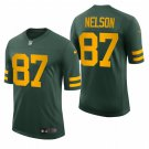 Jordy Nelson Green Bay Packers 50s Classic Throwback Vapor Limited Mens Football Jersey Green