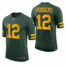 Aaron Rodgers Green Bay Packers 50s Classic Throwback Vapor Limited Mens Football Jersey Green
