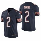 Chicago Bears #2 Cairo Santos Navy Vapor Limited Football Jersey for Men Stitched