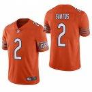 Chicago Bears #2 Cairo Santos Orange Vapor Limited Football Jersey for Men Stitched