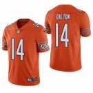 Chicago Bears #14 Andy Dalton Orange Vapor Limited Football Jersey for Men Stitched