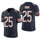 Chicago Bears #25 Artie Burns Navy Vapor Limited Football Jersey for Men Stitched