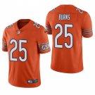 Chicago Bears #25 Artie Burns Orange Vapor Limited Football Jersey for Men Stitched